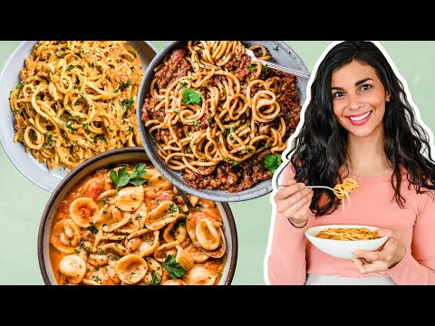 EASY VEGAN PANTRY PASTA RECIPES | quarantine cooking
