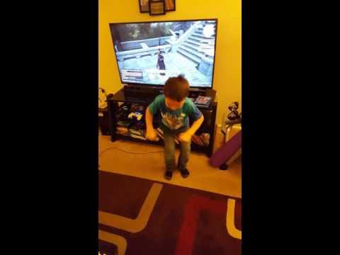 My son's Manderville Dance