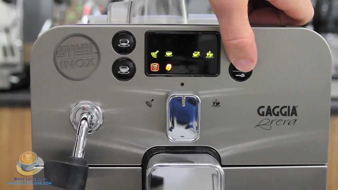 Fine Tuning The Gaggia Brera Espresso Machine   YouTube