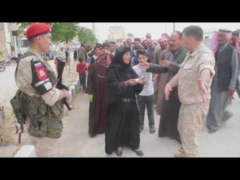 Humanitarian aid to Syrian people from Russia