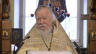Протоиерей Димитрий Смирнов. Проповедь о нашей сумасшедшей цивилизации