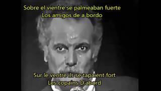 George Brassens - Les Copains D'abord. Los Amigos Primero. Subtitulado