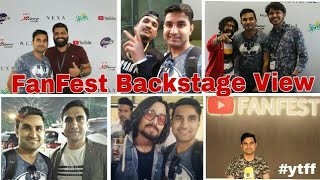 Backstage View - FanFest Showcase 2018 || #ytff | 3N vlogs