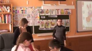"""Фрагмент урока, посвященного Пасхе """"Easter"""", учитель Давыдова А.В., 4 класс."""