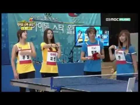 2012 Idol Star Olympics EunJung Uncut