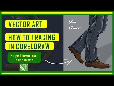 speed art coreldraw - how to draw vector art in coreldraw
