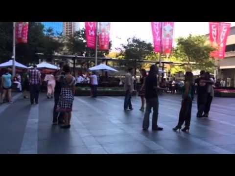 Tango at the quay bar in Sydney