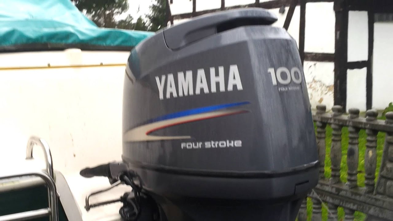 Yamaha f100 hp outboard motor 2004r four stroke 4 suw for Yamaha 100 hp outboard for sale