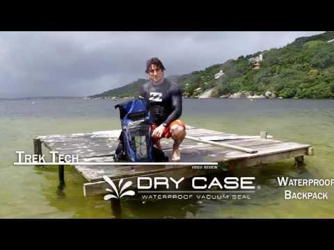 Trek Tech Review: The DryCASE Waterproof Backpack