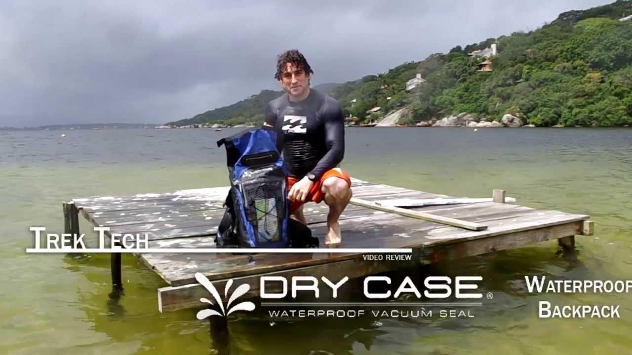 057cfafae1 Trek Tech Review  The DryCASE Waterproof Backpack - YouTube