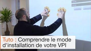 Comment installer un vidéoprojecteur interactif tactile