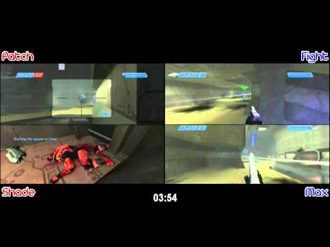 Patch & Shade vs. Fight & Max  - Prisoner 2v2 DUAL POV ( March 2011 ) - [ Patch/Shade's Host ]