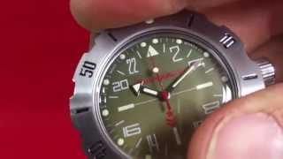 2431.01/350645 Vostok 24-hour watch / Vostok 24-Stundenuhr