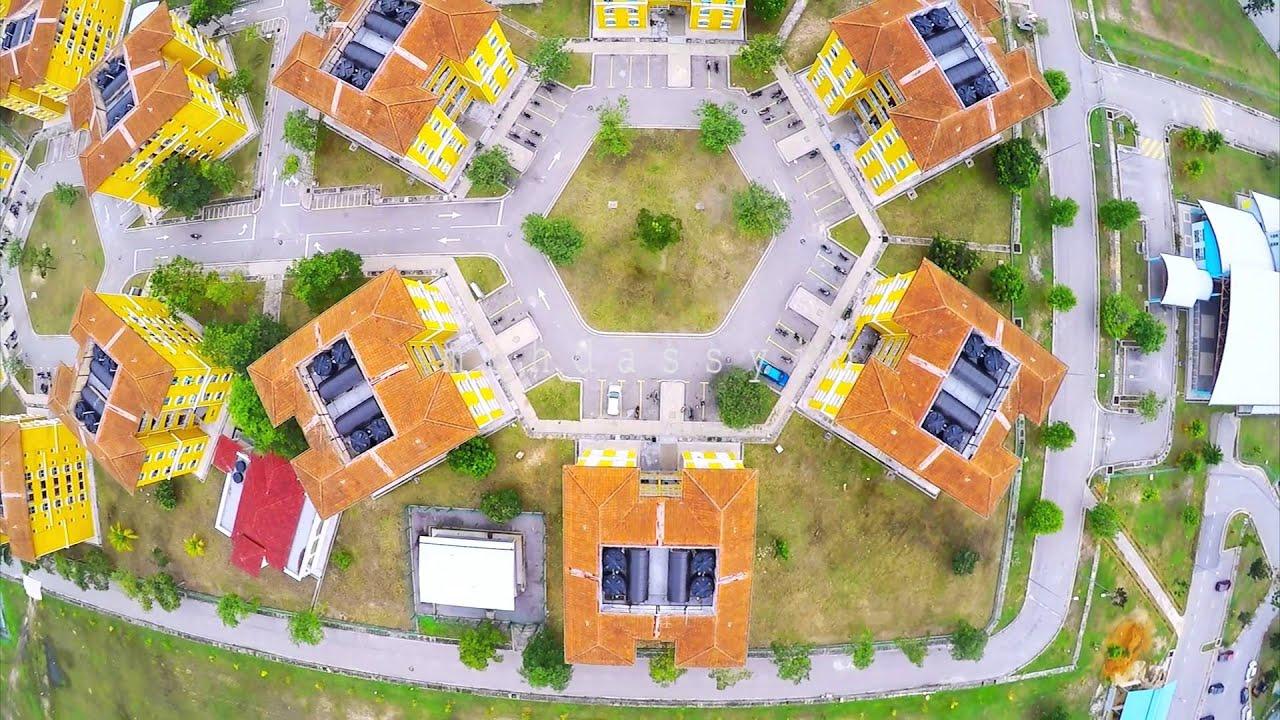Drone Footage Unisel Universiti Selangor Kampus Bestari Jaya Youtube