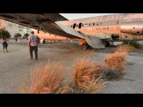 NICOSIA INTERNATIONAL AIRPORT, ABANDONED SINCE 1974