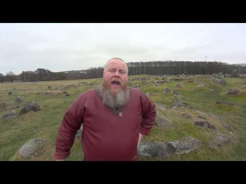 Lindholm Høje - viking burial site