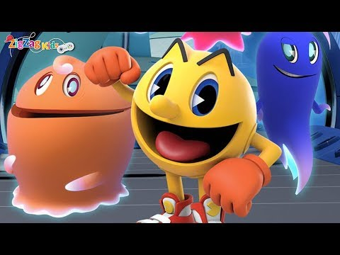 Pac Man | The Ghostly Adventures | Full Movie Game | ZigZag Kids HD