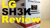 LG LAS454B 2 1 Soundbar In-depth Review - YouTube
