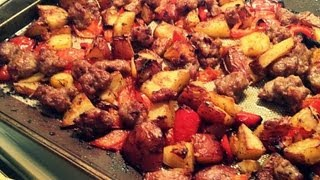 Sausage With Vegetable Bake One Pot Dish Amazing Recipe