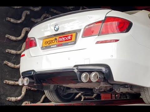 BMW F10 M5 DİFÜZÖR VE M KARBON EGZOZ UCU VE YAZILIM