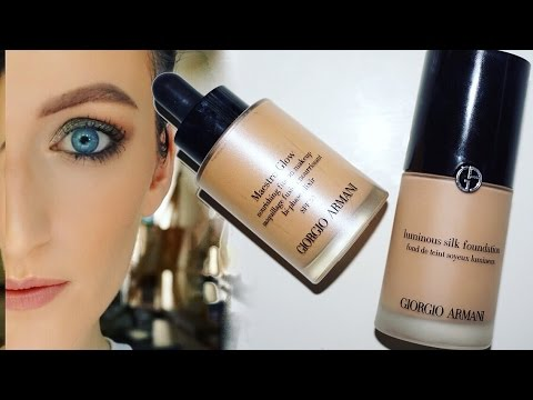 Armani Maestro Glow Review PART 2- Layering