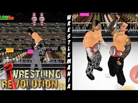 Fatal 4 Way Ladder Match at WM 33 - Wrestling Revolution 3D