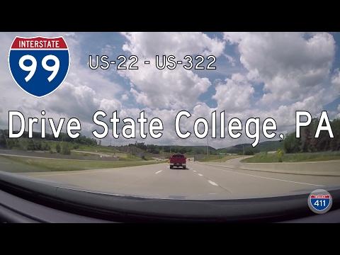 Interstate 99 - Mile 73 - Mile 62 - Pennsylvania | Drive America's Highways 🚙