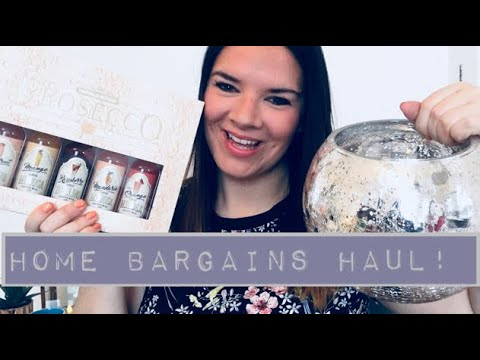 Home Bargains Haul! February 2018