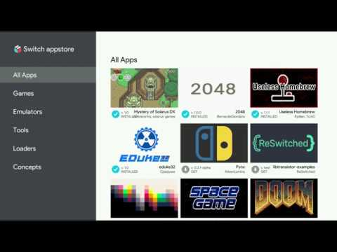Nintendo Switch: Homebrew App Store [Deutsch|HD]