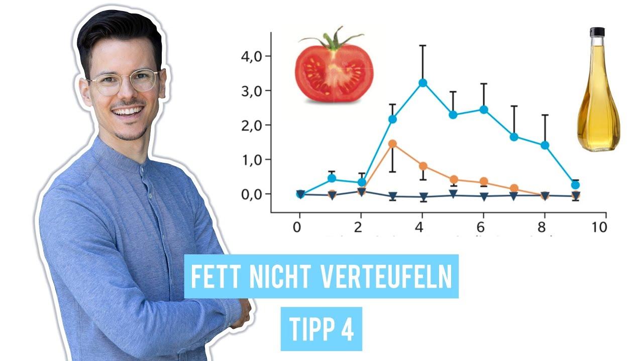 Nicht zu fettarm essen • Tipp 4/10 für eine gesunde vegane Ernährung