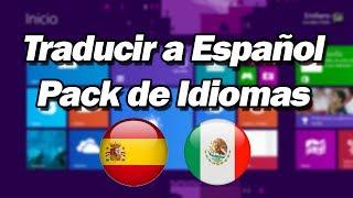 Windows 8.1 - Cambiar el Idioma de Inglés a Español