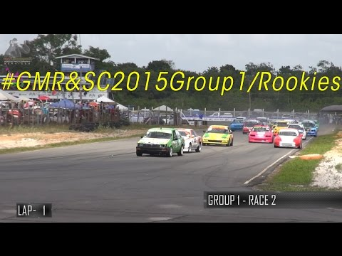 2015 Guyana Motor Racing & Sports Club - Group 1/Rookies Round 2
