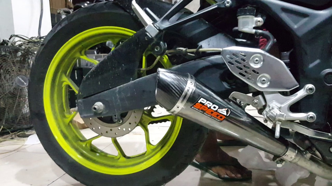 Motor Sport Yamaha Mt25 T Prospeed Mf Series Honda Sonic150r Knalpot Pro Speed Black R25 Xtreme