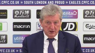 Hodgson 'proud' of injury-hit Palace