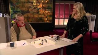 Leif GW illustrerar Röglespelarens överfall i Veckans brott: SVT