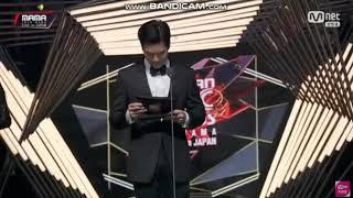 BTS MAMA - Best Music Video Award at MAMA 2018 in Japan