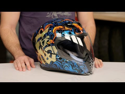 ICON Airflite Good Fortune Helmet Review at RevZilla.com