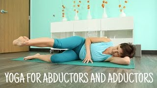 Yoga practice for abductors and adductors