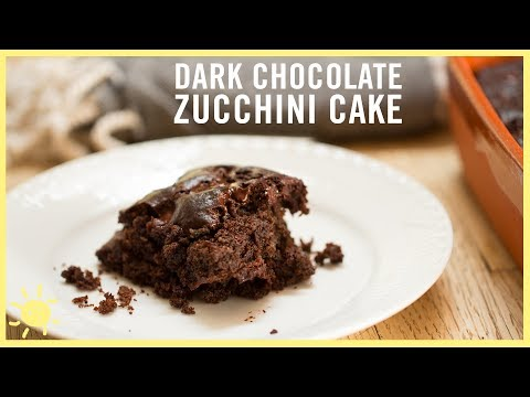 EAT | Double Chocolate Zucchini Cake (Gluten and Dairy Free!)