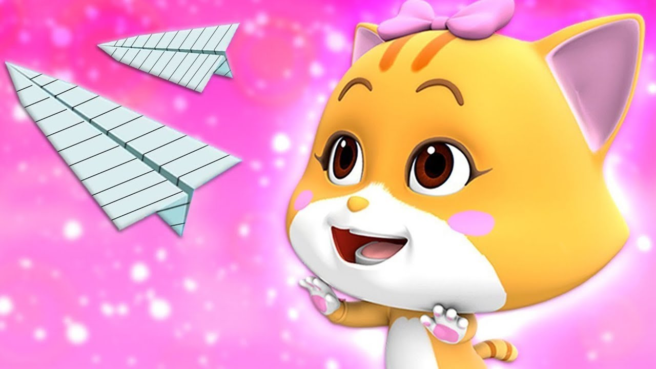 Paper Plane Challenge | Cartoon Videos For Kids By Loco Nuts