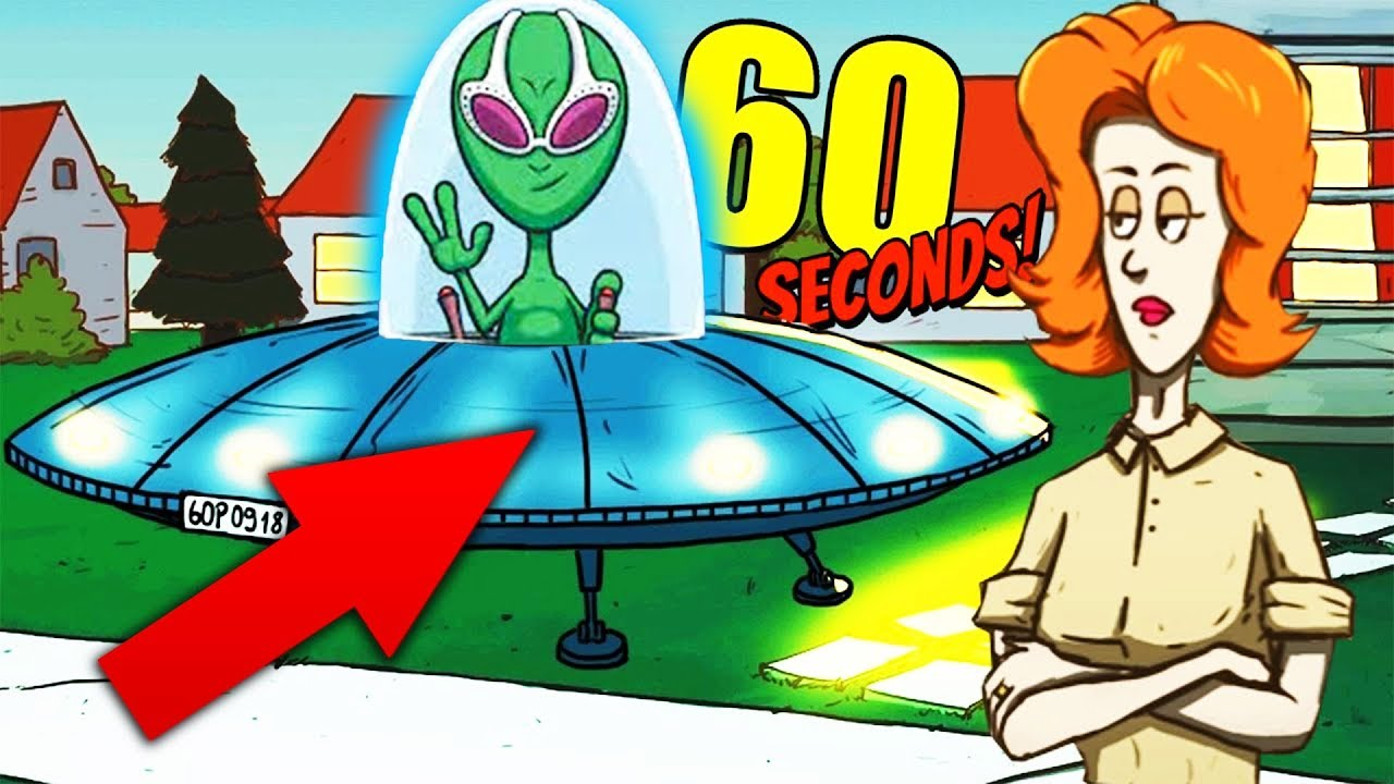 SCAPPIAMO CON GLI ALIENI?! - 60 Seconds