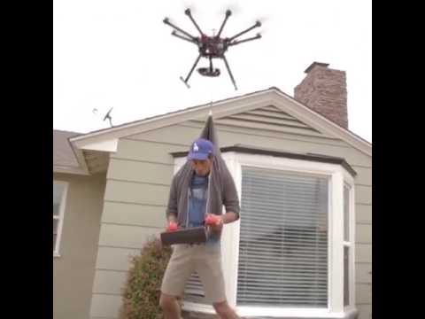 Amazing Drone Which can lift a man