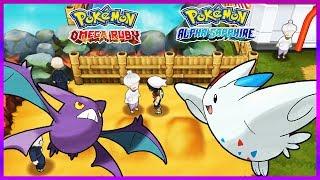 Pokemon OmegaRuby & AlphaSapphire - How to Get Crobat & Togekiss