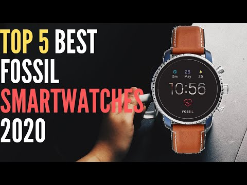 Top 5 Best Fossil Smartwatches 2020 - Best Watches Review