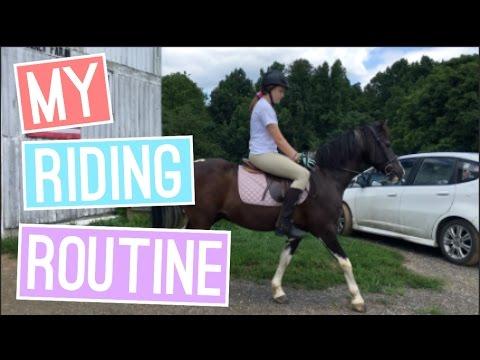 My Riding Routine! | itzamanda