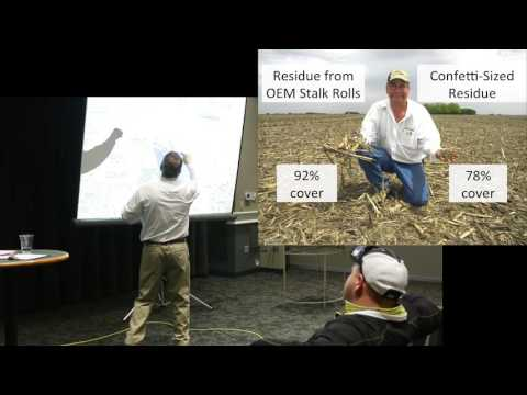 Managing Tough Cornstalk Residue for Increased Soybean Yields