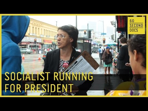 Socialist Candidate for US President // 60 Second Docs