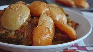 Recette de tajine aux coings caramélisés / Caramelized quinces tagine recipe