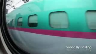JR東日本東北新幹線はやぶさ8号E5系仙台-大宮 JR East E5 Shinkansen