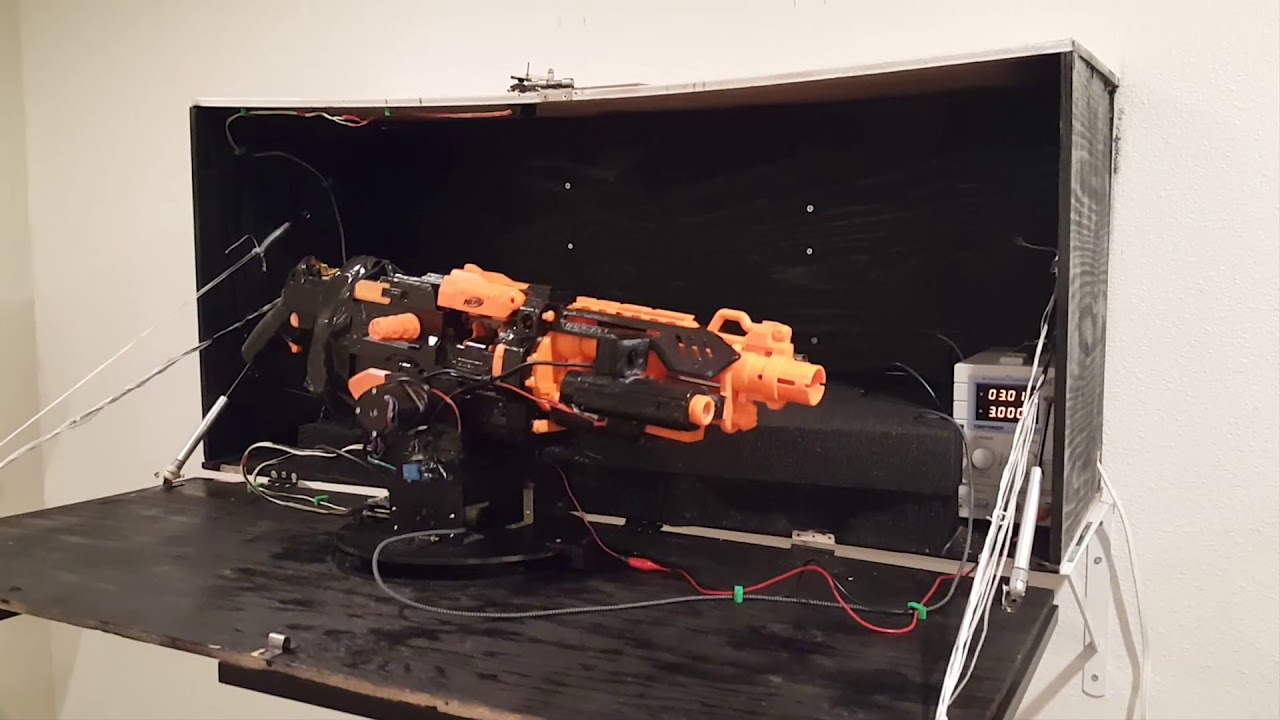 Nerf Alexa Home Defense Turret - Arduino Project Hub